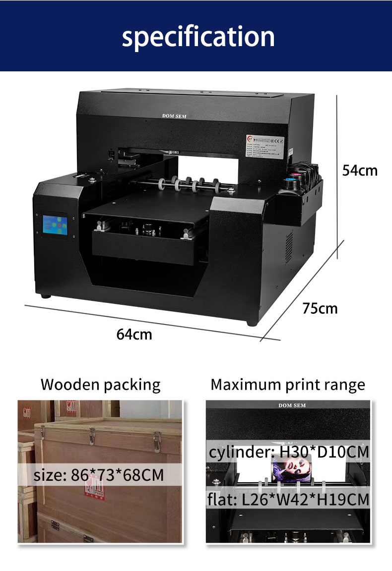 3 flatbed printers