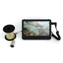 "2MP sony 7"" LCD monitor night vision ice fishing camera fish finder with video recording and phot shooting for fishing(China)"