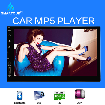 Smartour Universal 2 din Car Multimedia Player Autoradio 2din Stereo 7 #8243 Touch Screen Video MP5 Player Auto Radio Backup Camera tanie i dobre opinie 0 8KG