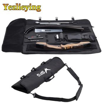 Bolsa de Tiro con Arco recurvo, bolsa de flecha, bolsa de transporte con arco recurvo, mochila con correa ajustable
