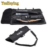Hunting Portable Archery Recurve Bow Bag Arrow Bag Recurve Bow Carry Case Backpack With Adjustable Strap