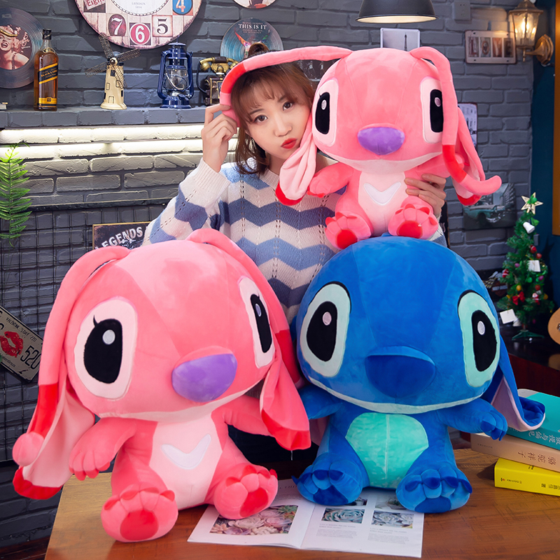 14-22inch Giant Lilo & Stitch Figure Plush Toys Large Stich Stuffed Soft Doll Animal Pillow Children Christmas Birthday Gifts