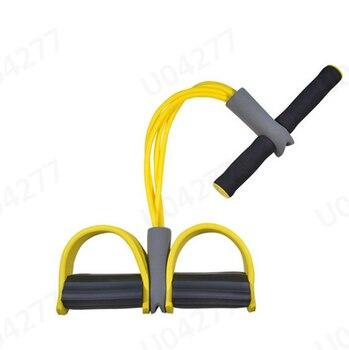 Επαναστατικό σύστημα εκγύμνασης με 4 λάστιχα αντίστασης για γυμναστική σε όλο το σώμα,όργανο γυμναστικής πολλαπλών χρήσεων.