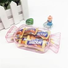 12pcs Plastic Candy Gift Box Lovely Candy Shape Candy Box Chocolate Candy Box Eyelash case Wedding Birthday Baby Shower Decor candy moyo cmh53