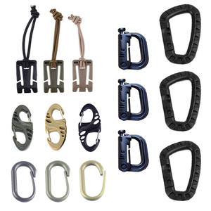 Backpack Carabiner-Clip Shackle Snap-Lock Webbing Connect Mountain-Buckle Molle Grimlock