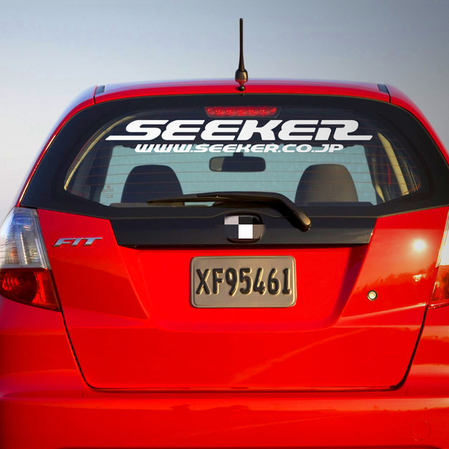 Voiture style vinyle autocollant Loctotive arrière pare-brise fenêtre corps Pick-up camion queue fenêtre décalques pour japon modifié Seeker