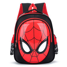 New Boys 3-6 Year Old 3D School Bags Child Spiderman Book bag Kids Shoulder Bag Satchel Knapsack 2020 Hot Waterproof Backpacks(China)