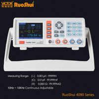 RuoShui VC4090 serie Puente Digital inductancia de resistencia medida LCR medidor eléctrico probador de componentes electrónicos