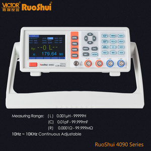 Image 1 - RuoShui VC4090 Series Digital Bridge Capacitance Resistance Inductance Measure LCR Meter Electrical Electronic Component Tester