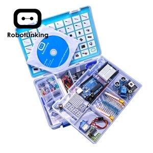 Image 3 - Robottinging UNO Project Kit de iniciación más completo para Arduino Mega2560 UNO con Tutorial/Fuente de alimentación/Servo Motor paso a paso