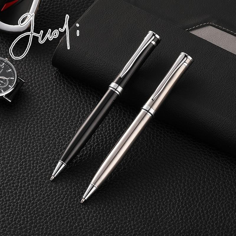 Guoyi Ballpoint-Pen Office-Stationery Metal School-Gift G22 1pc/batch Luxury Rotating-G2