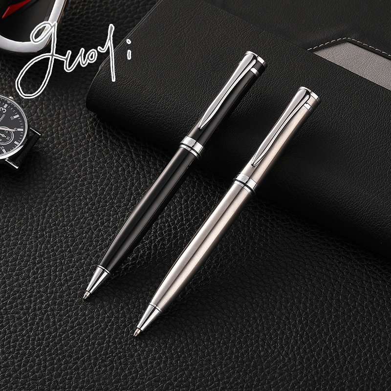 Guoyi G22 Creative Rotating G2 424 Metal Ballpoint Pen 1pc/batch, Office Stationery School Gift Pen&luxury Hotel Business  Pen