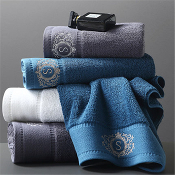 Five star hotel bath towel cotton adult extra thick soft absorbent large men and women couples bath towel