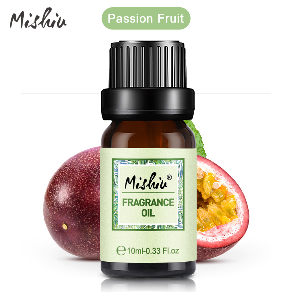 Mishiu Passion Fruit Fragrance Oil Aromatherapy Diffusers Massage Fragrances Oil Humidifier Diffuser Aromatic Aroma 10ML