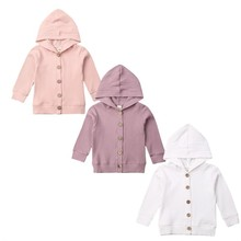 Baby Sweaters Autumn Infant Baby Girl Clothes Long Sleeve Knitted Coat Jacket Outwear Tops