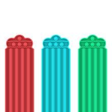 1 шт силиконовых кейсов красные синие зеленый пузырь сенсорные