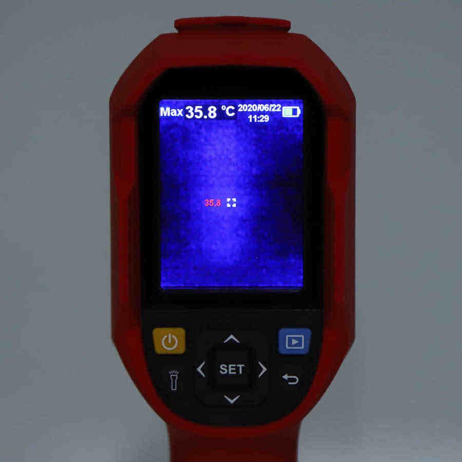 Alarma puerta дверная сигнализация UTi85H + Инфракрасный Тепловизор ручной датчик температуры камеры 30 ℃‑ 45 ℃