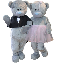 Костюм талисман для свадьбы мишки тедди костюмы косплея вечеринки