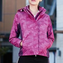 Womens Autumn Windbreaker Jacket Casual Waterproof Quick-drying Breathable Sport Outdoor Coat Female Stweetwear Clothing
