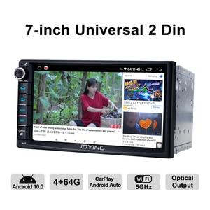 Image 4 - 2 din Car Radio player 7 inch universal head unit autoradio 4GB RAM+64GB Octa Core ROM support 4G/Carplay/Android auto/Fast Boot