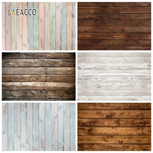 Laeacco Wooden Board Planks Texture Grunge Portrait Photography Backdrops Photo Backgrounds For Baby Pet Doll Photophone Props