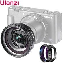 Ulanzi WL 1 ZV1 10X HD ماكرو عدسة 18 مللي متر واسعة زاوية عدسة كاميرا عدسة لسوني ZV 1 كاميرا الملحقات عدسة الكاميرا