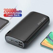Chargeur de batterie externe de chargeur de batterie externe de téléphone Portable de batterie Portable de la batterie 20000 mAh de charge 20000 mAh pour Xiaomi Mi