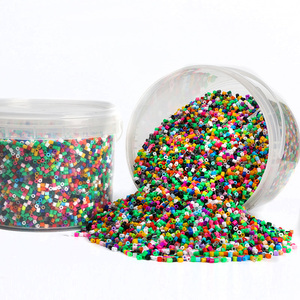 Image 1 - 5MM hama Beads , 12,000 pcs Multicolor Fuse Beads Kit for Kids Crafts, Fuse Beads  learning toys for children