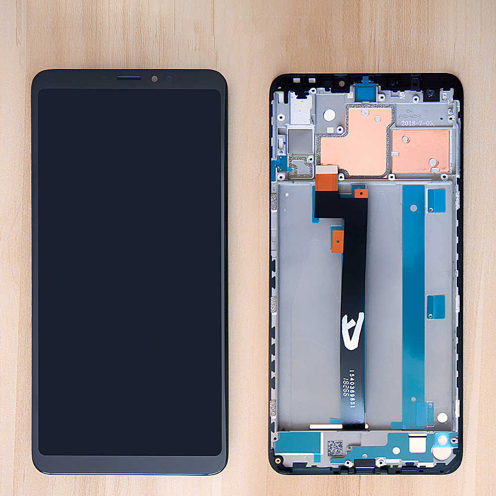 Original 6.9'' LCD For Xiaomi MI Max 3 LCD Display Touch Screen Digitizer Assembly Frame For Xiaomi MI Max 3 LCD Replacement