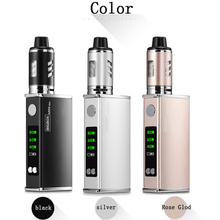 Electronic Cigarette 80W Adjustable vape mod box kit 2200mah 0.5ohm battery 3ml tank e-cigarette Big smoke atomizer vaper 100w box mod electronic cigarette vape kit 2200mah build in battery 3 5ml 0 3ohm atomizer tank e cigarette vaper pen mech mod