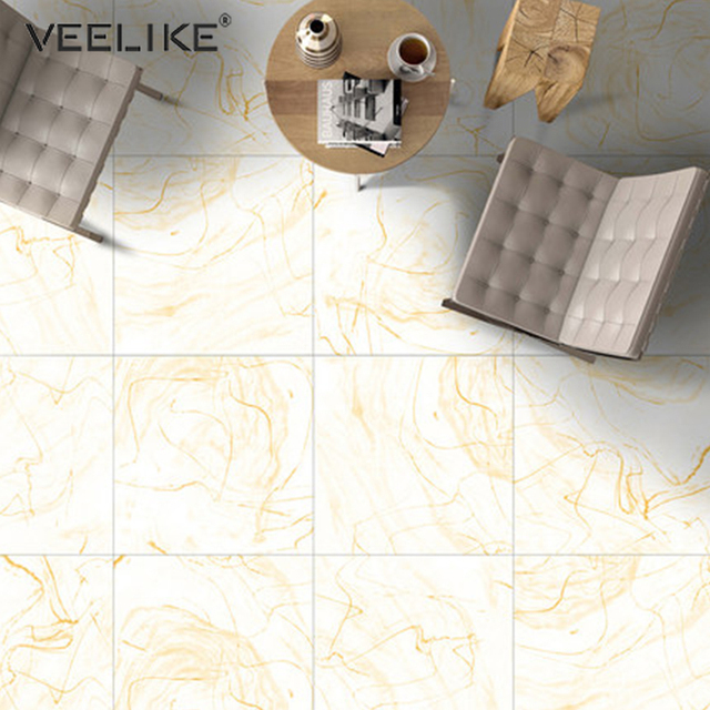 PVC Waterproof Marble Floor Tile Decals Vinyl Self Adhesive Film Non-Slip Floor Stickers Bathroom Living Room Decor Wall Sticker 2
