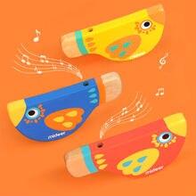 Детские деревянные свистки mideer игрушки со свистком для детей
