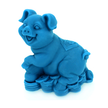 Nicole Silicone Soap Mold 3D Pig Shaped DIY Resin Crafts Mould