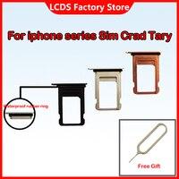 Soporte de tarjeta Micro Nano SIM, bandeja con ranura para iphone 5, 5S, SE1, 6, 6S, 7, 8 Plus, X, XS, XR MAX, pieza de repuesto