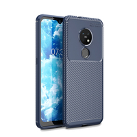 style protective For Nokia 7.2 Case Business Style Silicone Rubber Shell Coque TPU Back Phone Cover For Nokia 7.2 Protective Case For Nokia 7.2 (3)