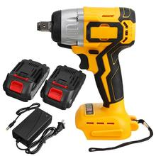 288VF Cordless Brushless 1/2'' Electric Impact Wrench With 2X19800mah Rechargeable Battery Impact Drill Power Tools