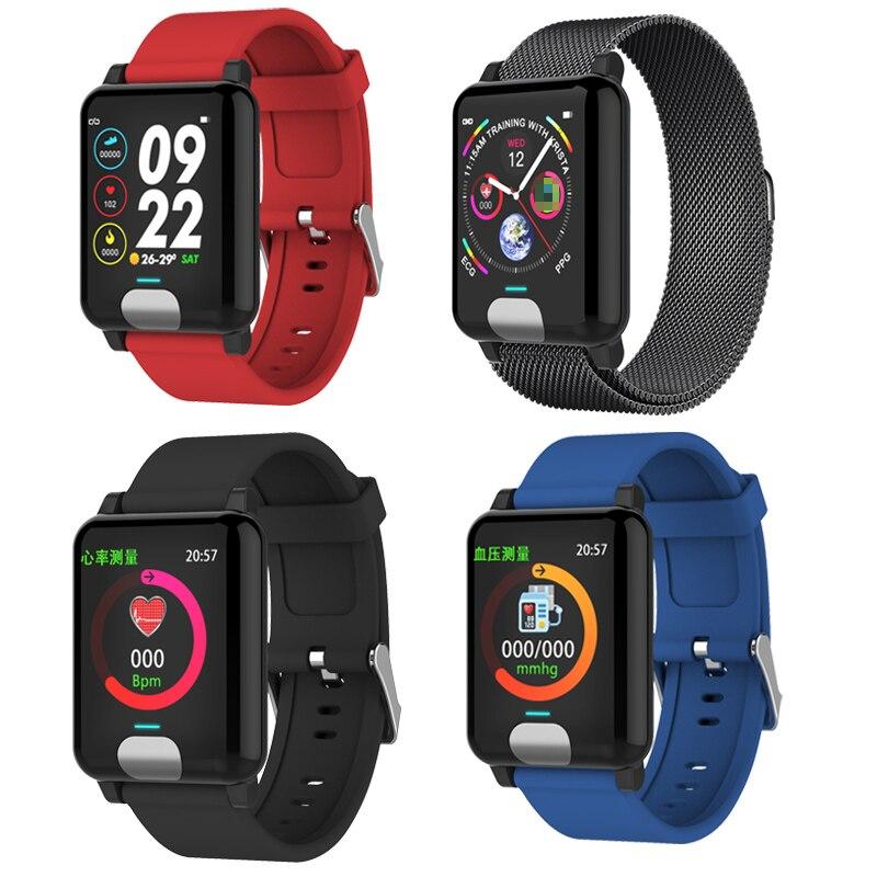 Chycet Smart Watch or Smart Bracelet for ECG PPG and Blood Pressure Measurement 5