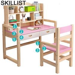 Dla Dzieci En Stoel Silla Y Mesa Infantiles Kind Baby Pupitre Infantil Giet Spelen Verstelbare Enfant Vriendelijker Voor Studie Kids tafel