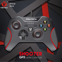 Fantech GP11 Gamepad HA CONDOTTO le luci Colorate design Ergonomico e funzione di vibrazione Per PS3 XIAOMIBOX PC Gamer