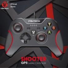 Fantech GP11 Gamepad LED צבעוני אורות ארגונומי עיצוב ופונקצית רטט עבור PS3 XIAOMIBOX מחשב גיימר