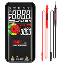 BSIDE S10 / S11 Digital Smart Multimeter Color LCD Display 9999 Digital DC AC Voltage Capacitor Ohm Diode NCV Hz Tester DMM