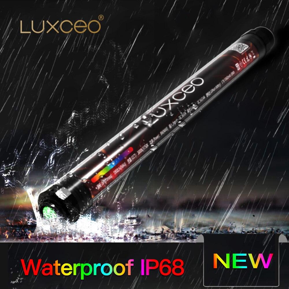1000lux RGB видео светильник для фотосъемки водонепроницаемый светильник для кемпинга IP68 USB Перезаряжаемый аварийный тент светильник для фотос