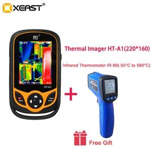 Image 2 - XEAST Thermal Imaging telefon komórkowy HT A1 220*160 rozdzielczość kamera na podczerwień HD narzędzie pomiarowe 100% szybka dostawa z moskwy