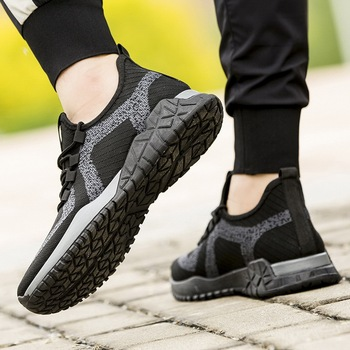 2020 new summer sports shoes men's Korean version of the trend of wild men's shoes summer breathable
