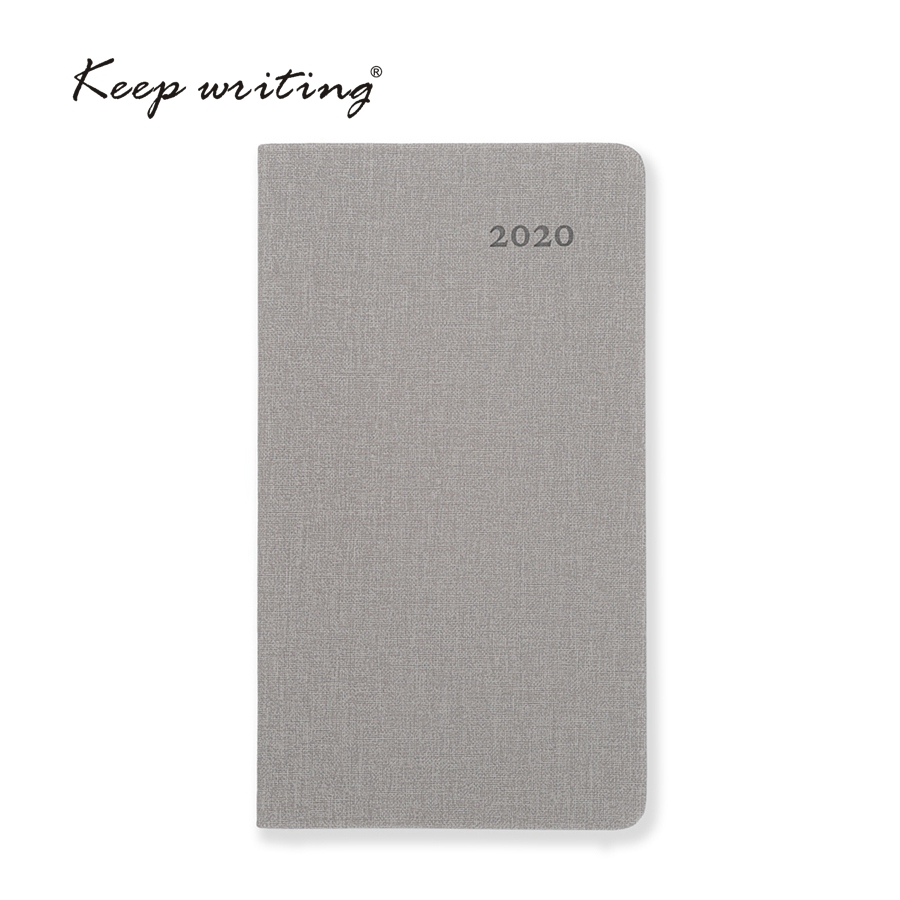 2020 Calendar Month Planner A6 Monthly Plan Notebook 26 Sheets 100gsm Paper Stationery Agenda Journal Notes Pocketbook 5 Colors