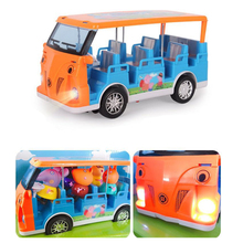 Peppa Pig Little Girl George Toy Car Wagon Action Figure Original Childrens Anime Cartoon Family Friends Party Birthday