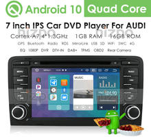 IPS 2 Din Android 10 CAR GPS Navigation for Audi A4 B7 B6 S4 B7 B6 RS4 B7 SEAT Exeo 2008-2012 Dvd Stereo Radio Multimedia Player(China)
