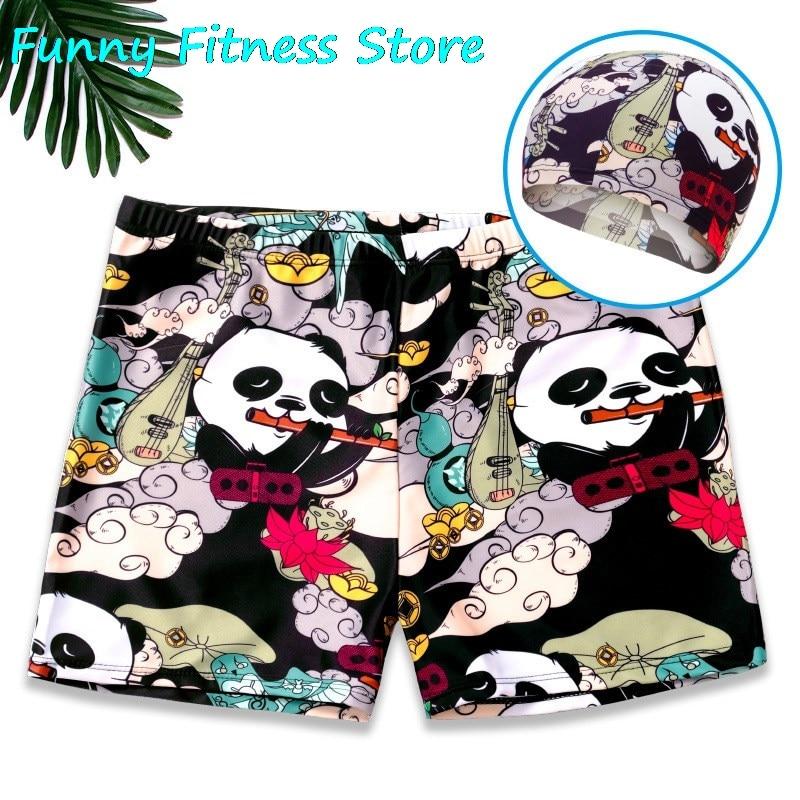 Surfing Board Swimsuit Shorts for Men Summer Beach Bikini Shorts Male Hawaii Swimming Pants Casual Holiday Sportswear Quick Dry