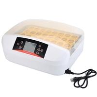 Intelligent Full automatic Egg Incubator Hatcher 56 Eggs Hatching Machine for Chicken Duck Transparent Plastic