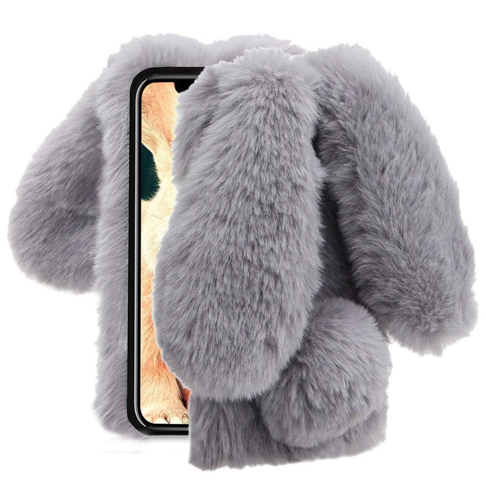Case for Huawei Y6 2019 Honor 8A 8C Y7 2019 Case Plush Bunny Rabbit - Բջջային հեռախոսի պարագաներ և պահեստամասեր - Լուսանկար 3